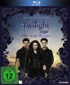 Die Twilight-Saga Film Collection BLU-RAY Box - Kristen Stewart/Robert Pattinson