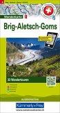 Hallwag Wanderkarte Brig-Aletsch-Goms