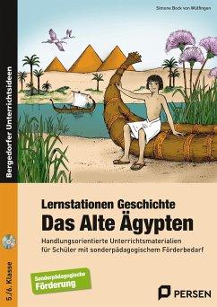 Lernstationen Geschichte: Das Alte Ägypten - Wülfingen, Simone Bock von