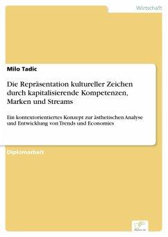 Die Repräsentation kultureller Zeichen durch kapitalisierende Kompetenzen, Marken und Streams (eBook, PDF) - Tadic, Milo