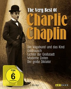 The Very Best of Charlie Chaplin BLU-RAY Box