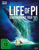 Life of Pi - Schiffbruch mit Tiger 3D, 2 Blu-rays