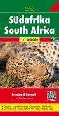 Freytag & Berndt Autokarte Südafrika; Sudafrica; Zuid-Afrika; South Africa; Afrique du Sud