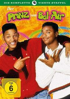 Der Prinz von Bel Air - Staffel 4 DVD-Box