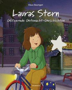 Glitzernde Gutenacht-Geschichten / Lauras Stern Gutenacht-Geschichten Bd.9 - Baumgart, Klaus; Neudert, Cornelia