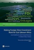 Making Foreign Direct Investment Work for Sub-Saharan Africa: Local Spillovers and Competitiveness in Global Value Chains