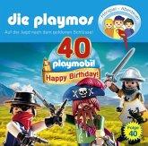 Auf der Jagd nach dem goldenen Schlüssel / Die Playmos Bd.40 (1 Audio-CD)