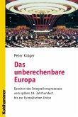 Das unberechenbare Europa (eBook, PDF)