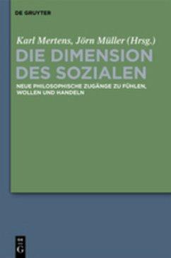 Die Dimension des Sozialen