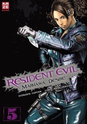 Buch-Reihe Resident Evil - Marhawa Desire