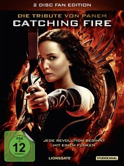 Die Tribute Von Panem: Catching Fire - 2 Disc DVD - Lawrence,Jennifer/Hutcherson,Josh