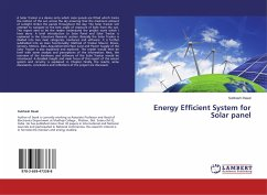 Energy Efficient System for Solar panel