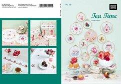 Tea Time. Kreuzstich-Stickideen