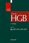 Handelsgesetzbuch §§ 425 - 435, 443 - 450