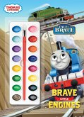 Thomas & Friends: Brave Little Engines [With Paint Brush and Paint]