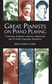 Great Pianists on Piano Playing (eBook, ePUB)