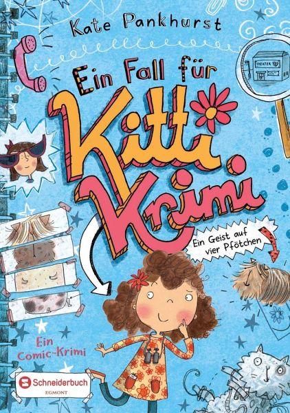 Buch-Reihe Ein Fall für Kitti Krimi von Kate Pankhurst