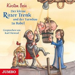 Der kleine Ritter Trenk und der Turmbau zu Babel / Der kleine Ritter Trenk Bd.6 (1 Audio-CD) - Boie, Kirsten