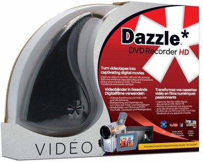 dazzle dvd recorder hd ml software. Black Bedroom Furniture Sets. Home Design Ideas