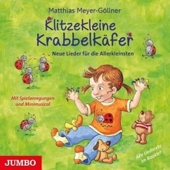 Klitzekleine Krabbelkäfer, 1 Audio-CD
