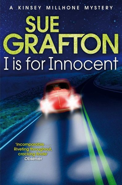I Is For Innocent by Sue Grafton (1993 Paperback) Bk 9 Kinsey Millhone Mystery