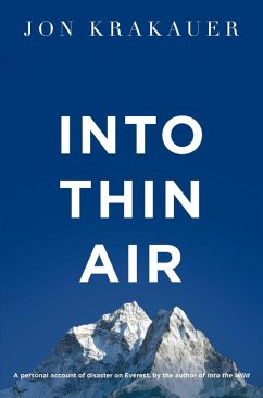 Into Thin Air (eBook, ePUB) - Krakauer, Jon