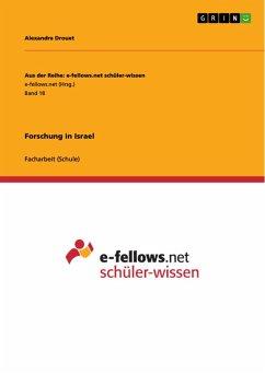 Forschung in Israel (eBook, PDF)