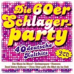 Die 60er Schlagerparty-40 Deutsche Kulthits - Diverse