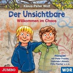 Willkommen Im Chaos / Der Unsichtbare Bd.1 (1 Audio-CD) - Wolf, Klaus-Peter