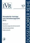 Düsseldorfer Vorträge zum Versicherungsrecht 2012 (eBook, PDF)