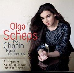 Klavierkonzerte Nr. 1 & 2 - Scheps,Olga/Foremny,M./Stuttgarter Kammerorchester
