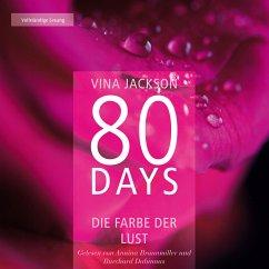 Die Farbe der Lust / 80 Days Bd.1 (MP3-Download) - Jackson, Vina
