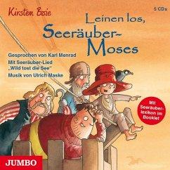 Leinen los, Seeräuber-Moses / Seeräuber-Moses Bd.2, 5 Audio-CDs - Boie, Kirsten