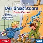 Freche Freunde / Der Unsichtbare Bd.2 (1 Audio-CD)