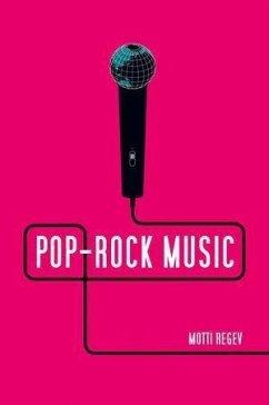 Pop-Rock Music (eBook, PDF) - Regev, Motti