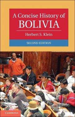 Concise History of Bolivia (eBook, ePUB) - Klein, Herbert S.