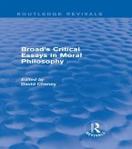 Broad's Critical Essays in Moral Philosophy (Routledge Revivals) (eBook, ePUB)