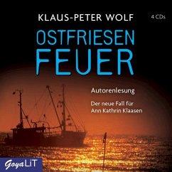 Ostfriesenfeuer / Ann Kathrin Klaasen ermittelt Bd.8 (4 Audio-CDs) - Wolf, Klaus-Peter