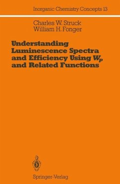 Understanding Luminescence Spectra and Efficiency Using Wp and Related Functions - Struck, Charles W.; Fonger, William H.