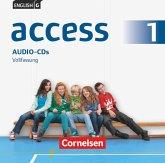 5. Schuljahr, Audio-CDs / English G Access - Allgemeine Ausgabe Bd.1