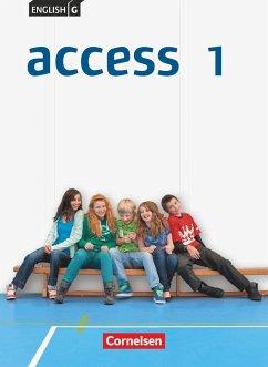 English G Access 01: 5. Schuljahr. Schülerbuch - Harger, Laurence; Niemitz-Rossant, Cecile