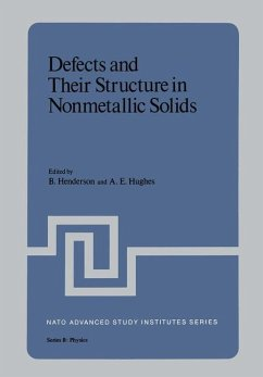Defects and Their Structure in Nonmetallic Solids