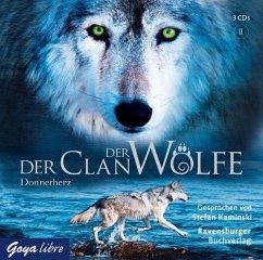 Donnerherz / Der Clan der Wölfe Bd.1 (3 Audio-CDs) - Lasky, Kathryn