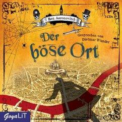Der böse Ort / Peter Grant Bd.4 (3 Audio-CDs) - Aaronovitch, Ben