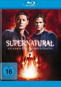 Supernatural - Die komplette 5. Staffel BLU-RAY Box - Jared Padalecki,Jensen Ackles,Misha Collins