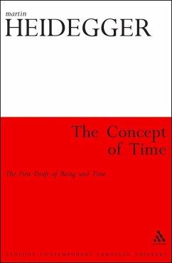 The Concept of Time (eBook, PDF) - Heidegger, Martin