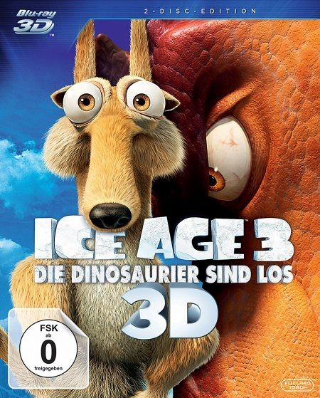Ice Age 3 Die Dinosaurier Sind Los Blu Ray 3d Blu Ray 2d