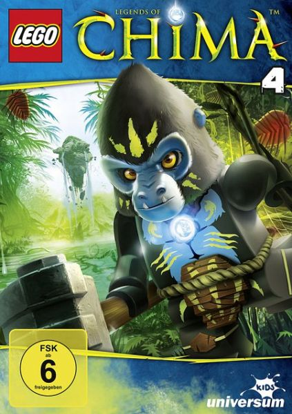Lego: Legends of Chima - DVD 4 - Film auf DVD - buecher.de