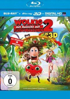 Wolkig mit Aussicht auf Fleischbällchen 2 (Blu-ray 3D)