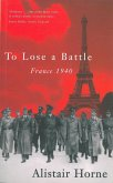To Lose A Battle (eBook, ePUB)